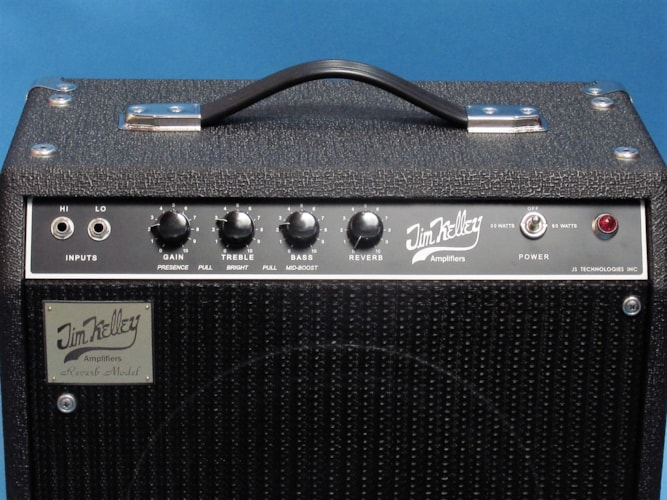 "Jim Kelley Single Channel Reverb 1 x 12"" Combo Black, Brand New, $3,499.00"