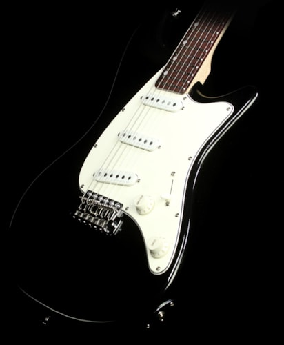 John Page Classic Ashburn Electric Guitar Black Metallic Black Metallic, Brand New, $1,379.00