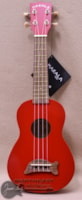 KALA Ma Dolphin Soprano Ukulele in Candy Apple Red