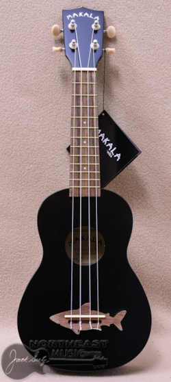 KALA Ma Shark Soprano Ukulele in Black