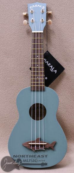 KALA Ma Shark Soprano Ukulele in Shark Fin Grey