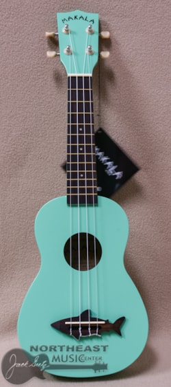 KALA Ma Shark Soprano Ukulele in Surf Green