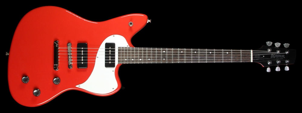 Kauer Used Kauer Daylighter Express Electric Guitar Red Excellent, $1,439.00
