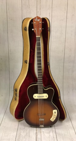 1950 Kay K5965 50s Howling Wolf Bass