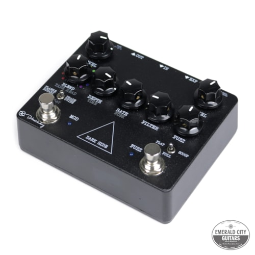 Keeley Dark Side Fuzz/Modulation Black, Excellent