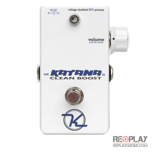 Keeley Katana Clean Boost Brand New $199.00