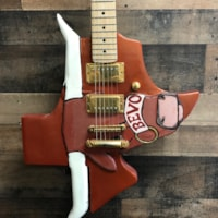 Killer B Kustoms UT Longhorn Bevo Custom