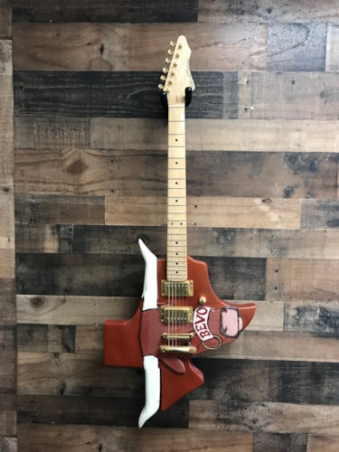 Killer B Kustoms UT Longhorn Bevo Custom Orange, Excellent