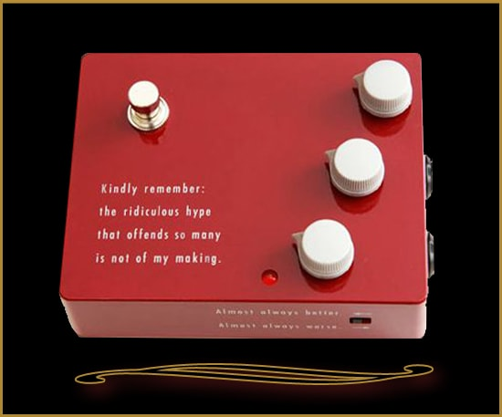 Klon LLC KTR Reissue Red, Brand New, $269.00