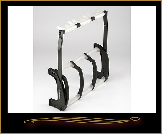 K&M 17513 Guardian Three Guitar Stand White, Brand New