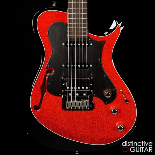 Knaggs Choptank T3 Black / Red Sparkle, Brand New, Original Hard