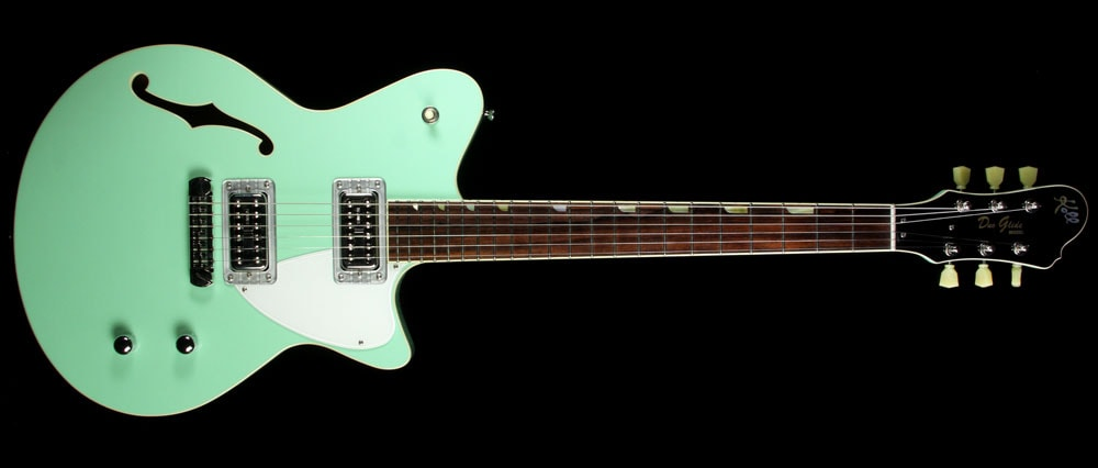 KOLL Used 2011 Koll Duo Glide Electric Guitar Surf Green Surf Green, Excellent, $2,599.00