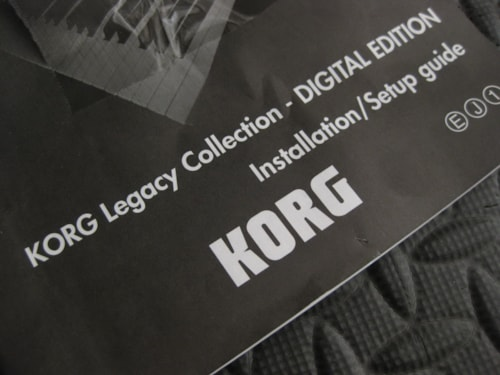 Korg LEGACY COLLECTION DIGITAL EDITION Very Good