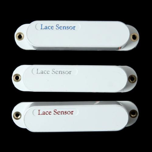 Lace Sensor Blue Silver Red Pickup Set (White) Brand New, $149.00