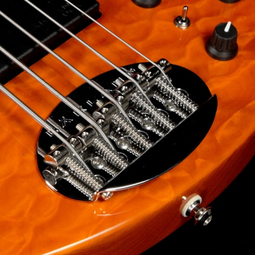 Lakland 55-94 Deluxe 5-String Bass Transparent Amber Brand New, $4,116.00