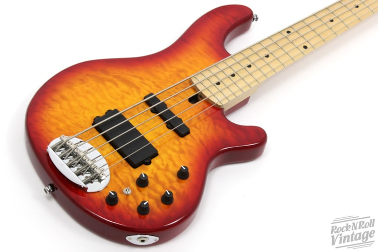 Lakland Skyline 55-02 Cherry Sunburst Brand New $1,499.00