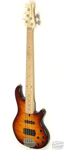 Lakland Skyline 55-02 Deluxe Bass Honeyburst Brand New $1,499.00