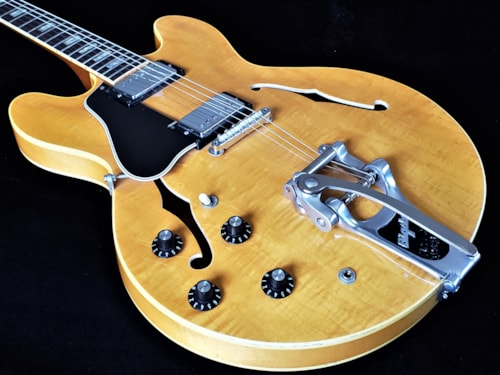 1968 Gibson LEFTY ES-335TDN Blonde > Guitars Electric Semi-Hollow Body |  Lefty Vintage Guitars