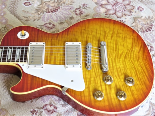 Left Handed/Lefty 2003 Gibson Brazilian Historic 1959/R9 Les Paul, 100% Original, Superb Guitar!
