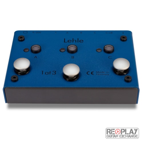 Lehle - 1at3 SGoS - A/B/C switcher *Open Box* Brand New, $224.99