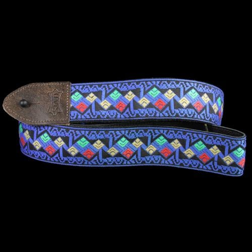 Levy's M8HTV Jacquard Weave Hootenanny Guitar Strap Brand New, $38.99
