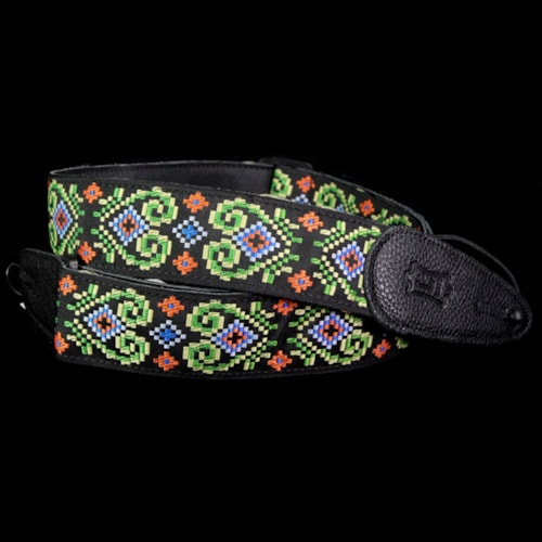 Levy's MGHJ2-008 Jacquard Guitar Strap Brand New