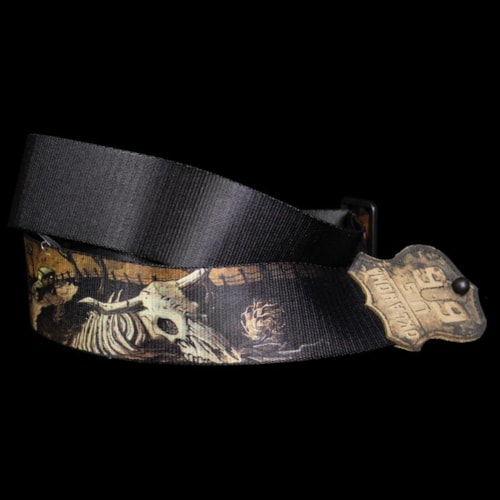 Levy's MPN2-OK Guitar Strap Sublimation Print Brand New