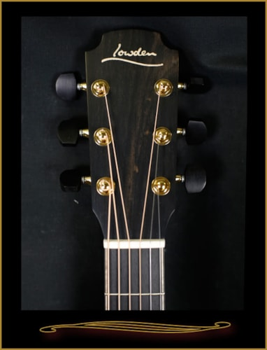 Lowden F35 Tasmanian Blackwood with Redwood Top Satin Natural