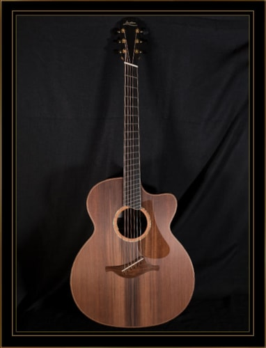 Lowden O-50cFF Fan Fret in Guatemalan Rosewood with Sinker Redwood Satin Natural, Brand New, Original Hard, $11,530.00