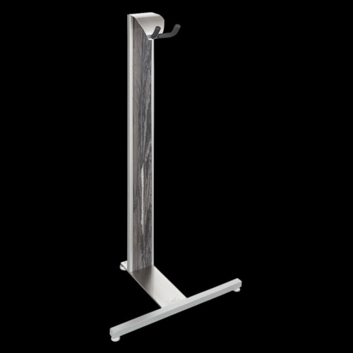 LSL Instruments LSL Arc Guitar Stand Silver and Weathered Acacia Brand New $129.99