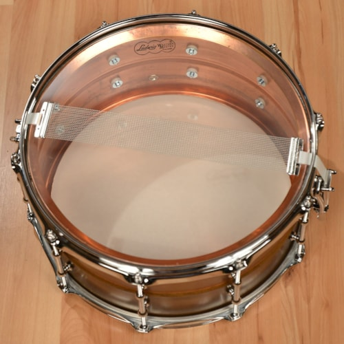 Ludwig 6.5x14 Raw Copper Phonic Snare Drum w/Tube Lugs B-Stock