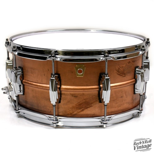 Ludwig LC663 Raw Copper Phonic Snare Drum Brand New $629.00