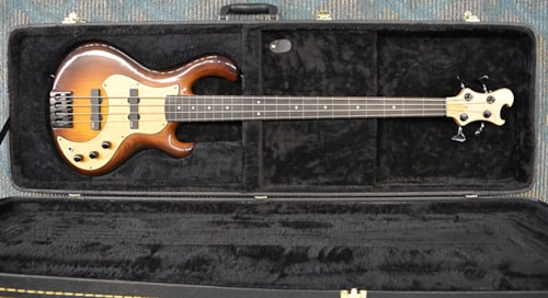 Lutarius Fretless 4 Brown-Burst