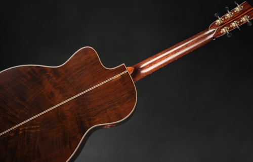 Bourgeois Luthier's Choice OMSC Fingerstyle Custom - Redwood/Master Brazilian