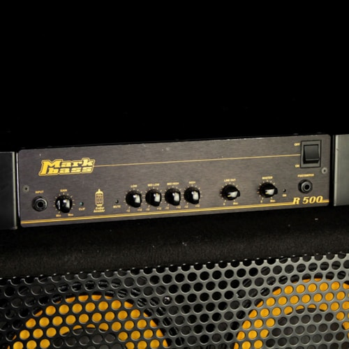 """Markbass Used Markbass R500 500W Bass Amp Head and 104HR 4x10"""" Cabinet Excellent, $999.00"""