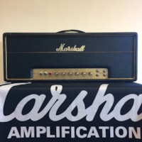 1968 Marshall JMP Plexi Super Bass 100w Head Model #1992