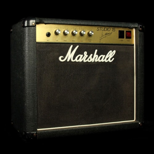 Marshall Used Marshall Studio 15 1x12 Tube Combo Electric Guitar Amplifier Excellent, $849.95