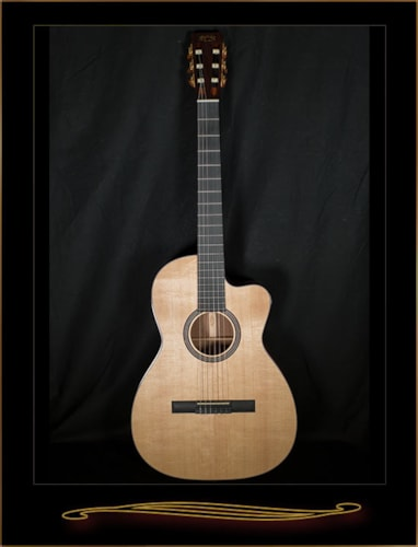 Martin 000C Nylon Natural, Brand New, Hard, $1,999.00