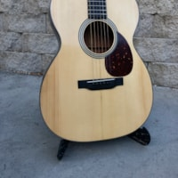 1937 Martin` c-1 conversion to 000-18 style