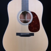Martin Custom Quilted Bubinga Dreadnought with Adirondack Spruce Top