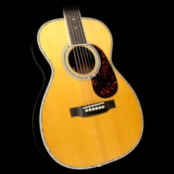 Martin Custom Shop 0-41 Sitka Spruce/Madagascar Rosewood Acoustic Guitar Natural