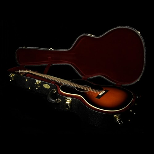 Martin Custom Shop CEO-7 Blackwood and East Indian Rosewood Neck Acoustic Guitar Autumn Sunset Burst