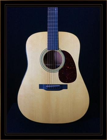 Martin Custom Shop Sinker Mahogany Dreadnought with VTS Adirondack Spruce Top
