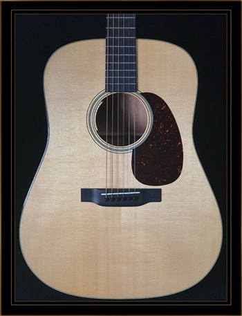 Martin Martin D-18E Mahogany Dreadnought with LR Baggs Anthem Electronics