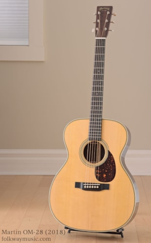 Martin OM-28 (2018) Brand New, Original Hard, Call For Price!