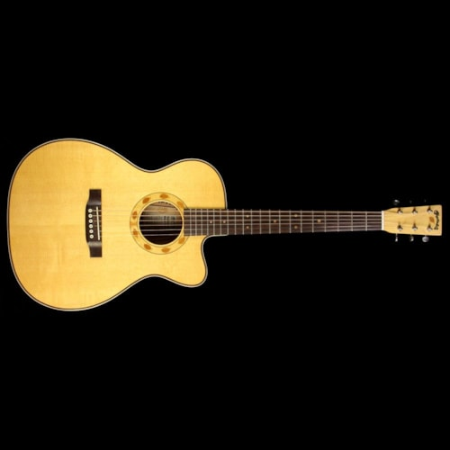 Martin Used Martin OMC Sustainable Cherry Acoustic Guitar Natural
