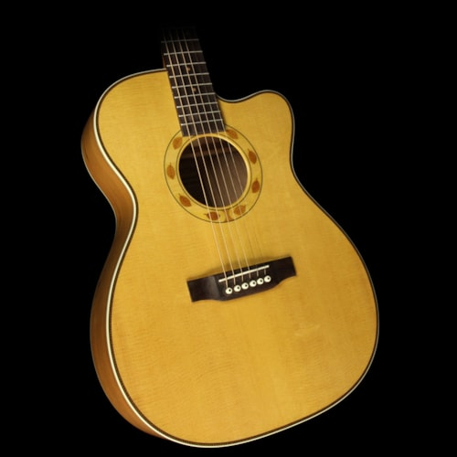 Martin Used Martin OMC Sustainable Cherry Acoustic/Electric Guitar Natural Natural, Excellent, $1,949.00