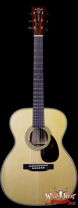 2019 Martin Custom Shop 000-14F Adirondack Spruce Top with Cocobolo Aging Toner LR Baggs Electric-Acoustic