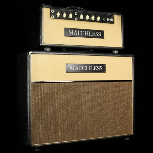 Matchless Used Matchless HC30 Electric Guitar Amplifier Head and 2x12 Cabinet Excellent, $3,825.00