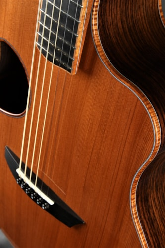 McPherson MG 3.5 - East Indian Rosewood/Redwood Brand New, Hard